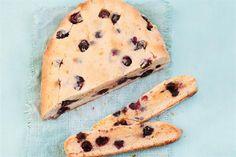 Biscottis de arándanos y chocolate blanco - revistamaru.com