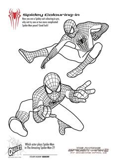free printable spiderman colouring pages and activity.html