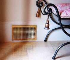 This style is the Drop-In Wall Grille in the Square design and the Bright Brass plated finish