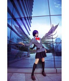 Tokyo Ghoul Touka Kirishima School Uniform Cosplay Costume - Anime Cosplay Costume