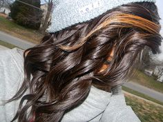 <3 Hat with curls are the best!