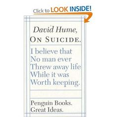 hume: on suicide