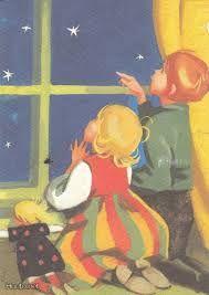 Love this gorgeous Martta Wendelin children's illustration! Christmas Tale, Vintage Christmas Cards, Christmas Illustration, Children's Book Illustration, Girl Face Drawing, Winter Art, Art For Art Sake, Vintage Children, Martini