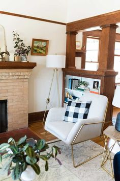 Buffalo Check Can Be Found In Nearly Every Room In This San Diego Home On Design*Sponge