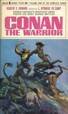 "Conan the Warrior"" published 1967 - Frank Frazetta cover art Fantasy Book Covers, Fantasy Books, Fantasy Art, Dark Fantasy, Frank Frazetta Conan, Conan O Barbaro, Conan The Conqueror, Conan Movie, Conan The Barbarian"