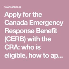 Pin On Cerb Canada