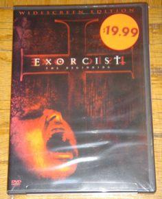 Exorcist The Beginning Stellan Skarsgaard Widescreen Edition DVD New Sealed 2005