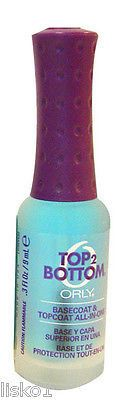 ORLY TOP 2 BOTTOM BASECOAT & TOPCOAT, ALL-IN-ONE, .3 OZ. BOTTLE