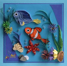 *QUILLING ~ neli: Preparation for Easter Holidays - 3