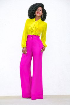 Best Fashion Tips For Women Over 60 - Fashion Trends Colourful Outfits, Colorful Fashion, Chic Outfits, Fashion Outfits, Fashion Trends, Black Women Fashion, Womens Fashion, Jessica Parker, Style Pantry
