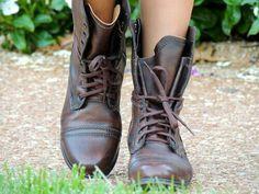 Combat boots ♡