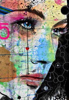 "Saatchi Art Artist Loui Jover; Drawing, ""5"" #art"