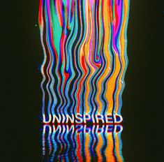 Uninspired shared by ☆ smokeorgasm ☆ on We Heart It Graphic Design Posters, Graphic Design Inspiration, Typographie Inspiration, Glitch Art, Psychedelic Art, Psychedelic Typography, New Wall, Motion Design, Aesthetic Art