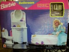 1996 Barbie Bathroom - OMG! So many memories!