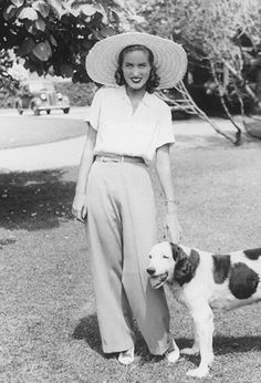 """""""Between Lasata and the Maidstone, the Bouviers lived their golden summers, never thinking that their way of life would ever end. The delights of East Hampton were perennial. Neither depression nor war could dampen them. Little Edie parading a new..."""