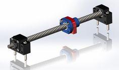 Ballscrew CNC - SOLIDWORKS - 3D CAD model - GrabCAD