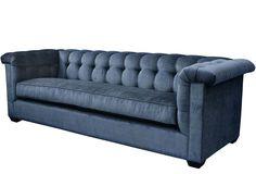 Barclay Butera - Brentwood Sofa, Steel Blue