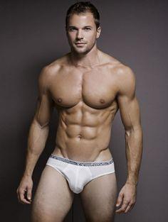 Chris Ryan, Underwear model extraordinaire.