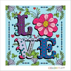 I love this app,colorfy by amanda drew