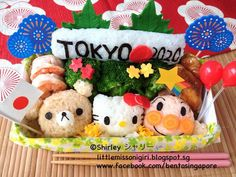 Twitter from @shirleyhkapa 東京オリンピックのキャラベン Tokyo Olympics 2020 Bento  https://www.facebook.com/photo.php?fbid=620753647947548&l=41a188929f … #obentoart #bento #bentosingapore #bentoandco