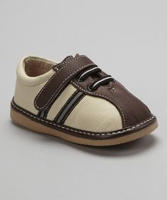 Take a look at this Coffee Stripe Shoe on zulily today!