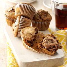 Cappuccino Muffins Recipe -These are my favorite muffins to serve with a cup of…