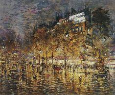 Paris. 1933 \\ Konstantin Alekseyevich Korovin-the brightest representative of Russian impressionism.