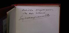 Envoi autographe signé de Guy de Maupassant sur Mademoiselle Fifi.