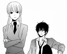 Find images and videos about anime, manga and tonari no kaibutsu-kun on We Heart It - the app to get lost in what you love. Shizuku And Haru, Shizuku Mizutani, Manga Anime, Manga Art, Anime Art, My Little Monster, Little Monsters, Couples Comics, Anime Couples