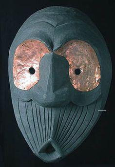 false face masks | Native American Mask - Iroquois False face mask