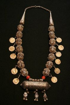 Old Yemen Tribal Necklace