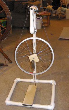DIY Spinning Wheel by stellalunag, via Flickr