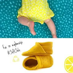 🍋🍋 SUMMER CORFOOT 🍋🍋 Κίτρινο σαν τον ήλιο του καλοκαιριού, δροσερά σαν το λεμόνι. www.corfoot.gr/product/lemon #SummerEdition 😎 Ιδανικά και για τους καλοκαιρινούς μήνες 😎 Με μαλακή, αντιολισθητική σόλα 😎 Ανάλαφρα και άνετα 😎 Προστατεύει τα βρεφικά ποδαράκια στο μπoυσούλημα και στα πρώτα βήματα χωρίς να ιδρώνουν . . #Corfoot #Handmade #LeatherBabyShoes #SoftBabyShoes #BabyShoes #FirstBabyShoes #eshopping #eshop #Corfootgr #DesignedinCorfu #HealthyFootwear #MomLife #Ba Crocs, Sandals, Fashion, Moda, Shoes Sandals, Fashion Styles, Fashion Illustrations, Sandal