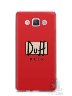 Capa Capinha Samsung A7 2015 Cerveja Duff - SmartCases - Acessórios para celulares e tablets :)