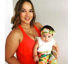 Alaïa, la hija de Adamari López y Toni Costa está arrasando en las redes sociales