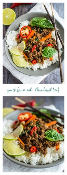 Quick Fix Meal: Thai Basil Beef