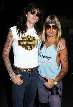 Tommy & Vince of Motley Crue