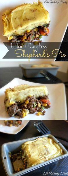 The Wholey Trinity: Gluten-Free Feature Friday: Shepherd's Pie (Gluten + Dairy Free)