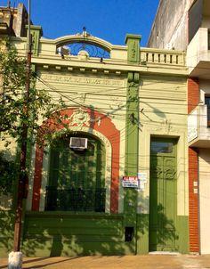 Casa antigua de Asunción -Paraguay