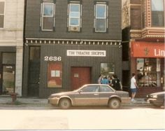 The Theatre Shoppe on Lincoln Avenue, the home of Players Workshop of the Second City, Chicago's longest operating school of improvisation, founded in 1971 by Josephine Raciti Forsberg.