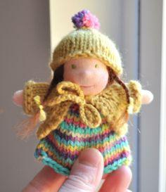Cosy Pocket Waldorf Doll