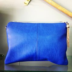 Royal Blue Clutch from Harper Jo & Company for $42 on Square Market
