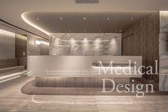 レディースクリニック・美容皮膚科・美容外科・クリニックの開業・改装時の内装・設計・インテリアデザイン・ロゴマーク・ツールキット・WEBサイトまでトータルでデザイン・ブランディング、東京、大阪、名古屋、福岡 Clinic Interior Design, Interior Design Portfolios, Lobby Interior, Clinic Design, Dental Office Design, Modern Office Design, Medical Design, Healthcare Design, Modern Offices