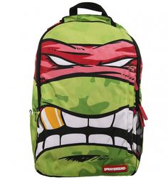 Teenage Mutant Ninja Turtles Grillz #Raphael DLX #Backpack Sprayground xoxo #TMNT