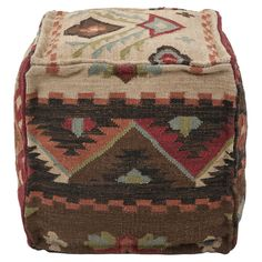 Mandira Pouf. For the boy's room someday. -MH