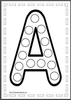 Escuela infantil castillo de Blanca: ABECEDARIO GOMETS Toddler Learning Activities, Montessori Activities, Alphabet Activities, Teaching Kids, Preschool Writing, Homeschool Kindergarten, Do A Dot, Letter A Crafts, Learning Letters