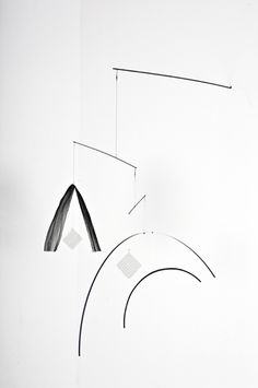 Beautifully simple everyday-object mobile sculptures from Hanna Sandin