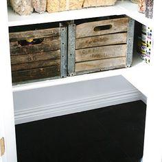 mmmm.. wood crates...