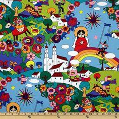 Alexander Henry Folklorico Zocalo Fabric - love!