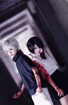 tokyo ghoul cosplay | Ken Kaneki & Touka Kirishima | Tokyo Ghoul
